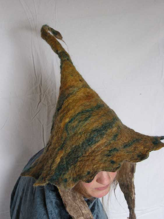 Felting. Fairy Hat with points ... 259cdb80d86
